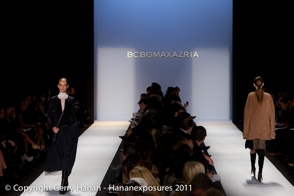 Mercedes Benz 2010 New York Fashion Week BCBGMAXAZRIA Fall 2011