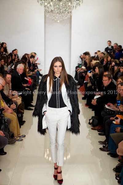 Rachel Zoe - Fall Winter 2012 - Mercedes-Benz New York Fashion Week