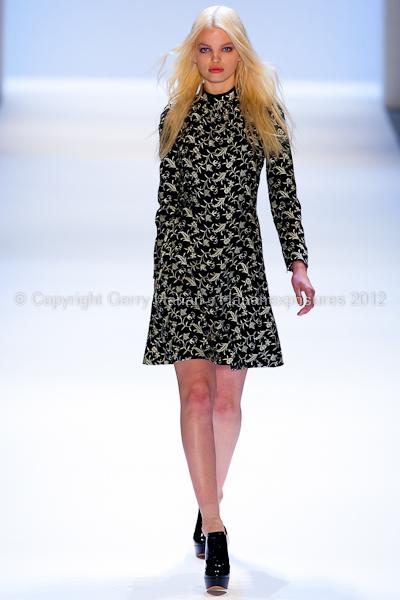 JILL STUART - Fall/Winter 2012 - Mercedes-Benz New York Fashion Week