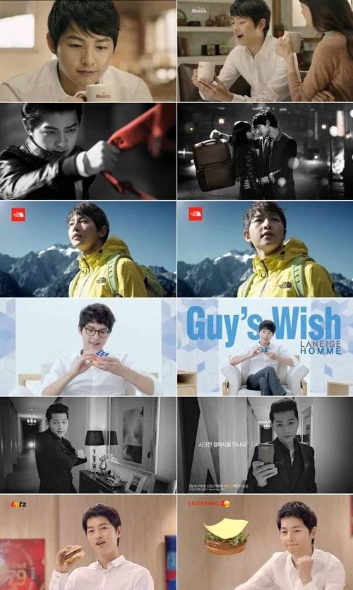 Song Joong Ki comerciales