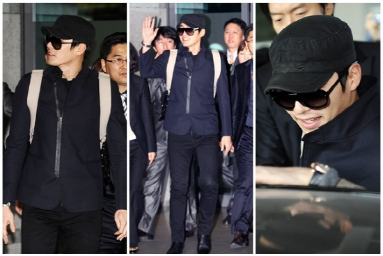 Hyeon Bin All Black Airport Fashion Netizens Say