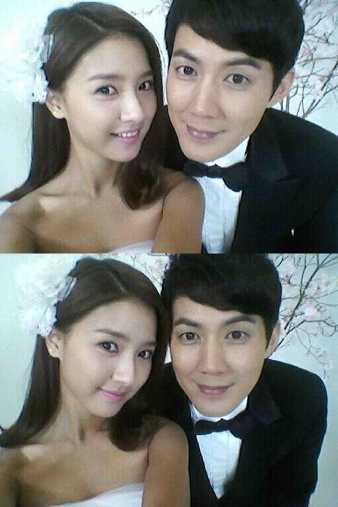Kim So Eun And Ryu Jin In Wedding Self Shot HanCinema
