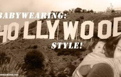 Baby wearing hollywood style