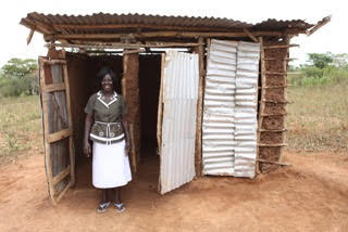 Privacy and sanitation can make a huge change within the lives of women in particular.