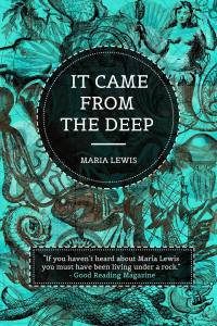 It Came From The Deep- book cover art