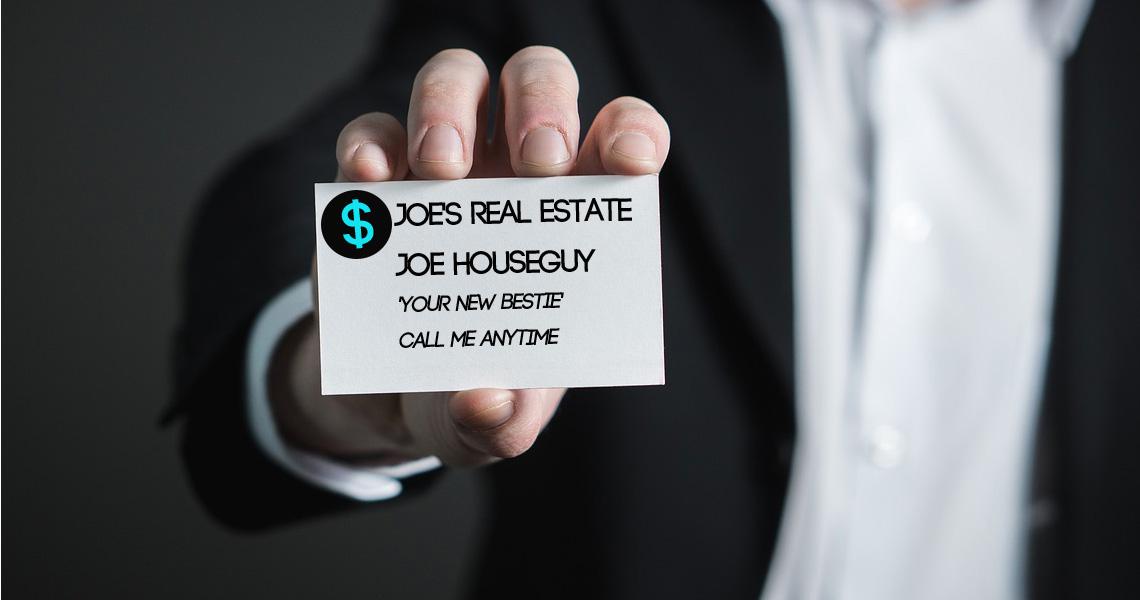 Real Estate Agents: A Strange Breed