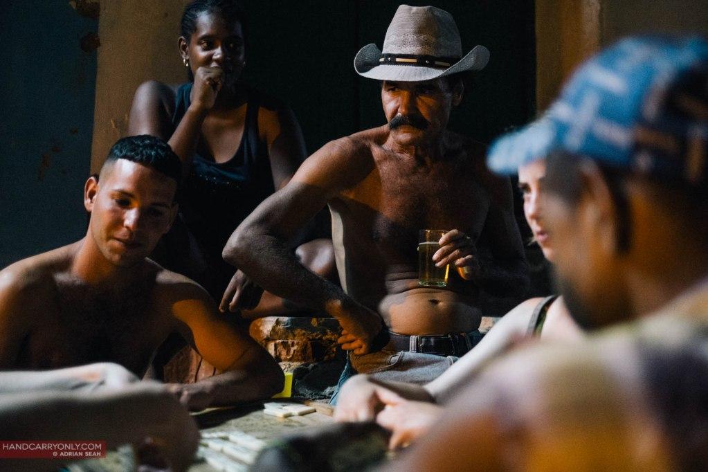 Domino players Trinidad Cuba