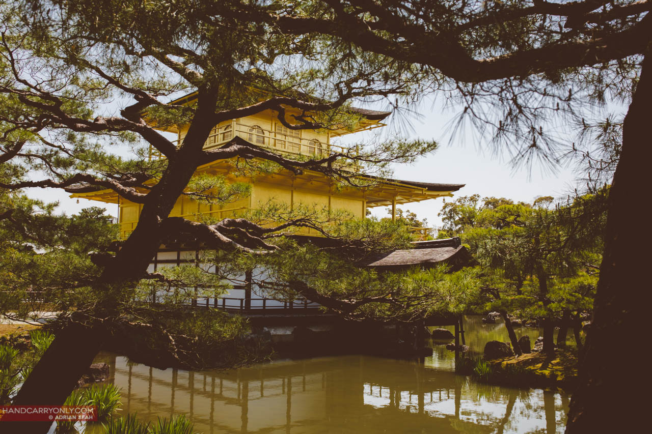 Kinkakuji (Golden Pavilion) in kyoto japan