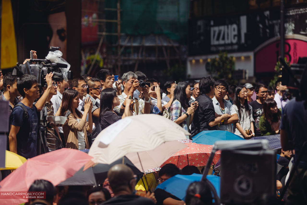 cameras everywhere occupy central