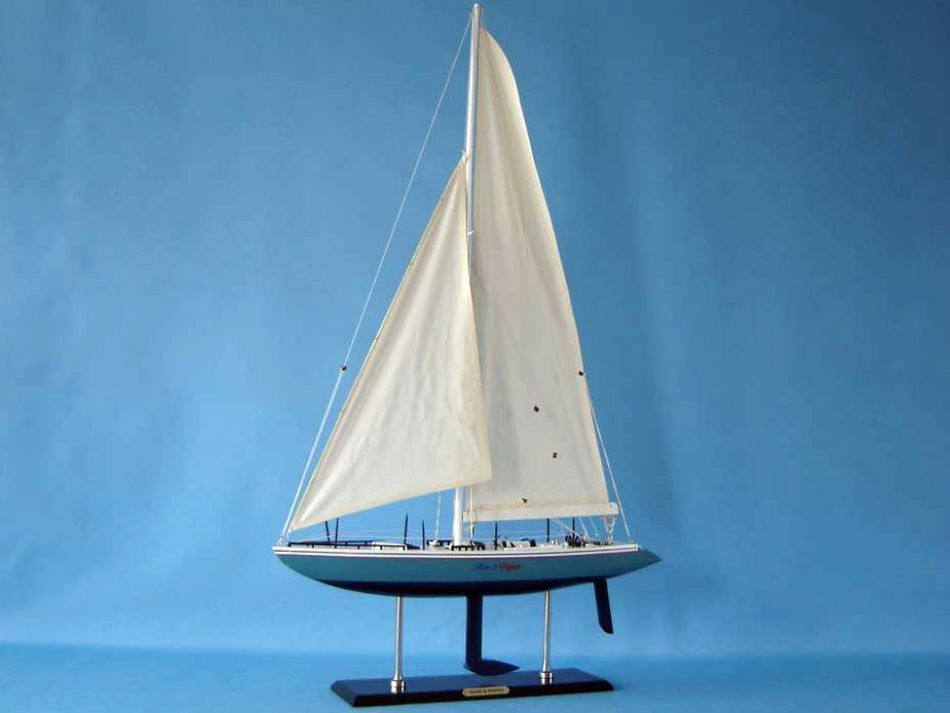 Buy Wooden Stars And Stripes Model Yacht 40in Model Ships