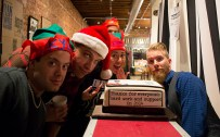 Hand Drawn Christmas at Spinster Records // Photo by Brooke Adams