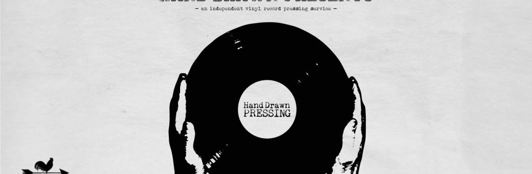 Hand Drawn Pressing // Independent Vinyl Record Pressing Service // Dallas, TX