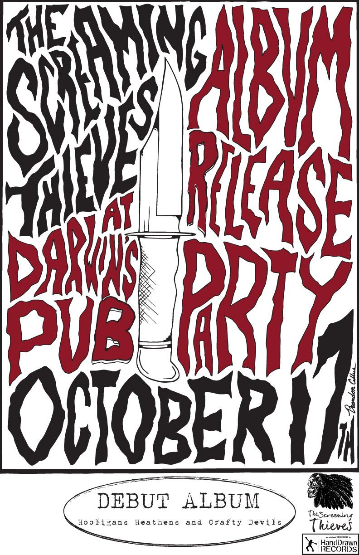Screaming Thieves Album Release // Oct 17, 2015