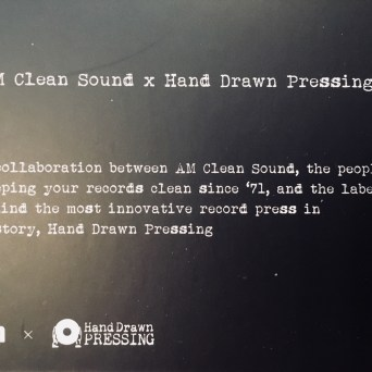 AM Clean Sound x Hand Drawn Pressing: The Record Cleaner Box Set: A Collaboration