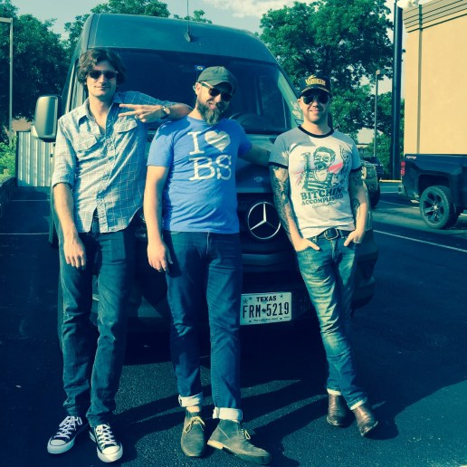 """Stephen Beatty, Sean Russell, Brandon Callies """"Hand-Picked Tour: Part 1"""": JUNE 2016 // Photo by Honey Russell"""