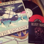 """""""The Uncanny"""" LP & """"Hedy Lamarr"""" EP by Rube Rae // Hand Drawn Pressing"""