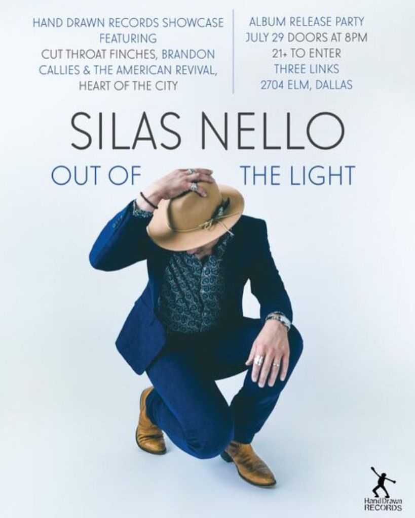 Silas Nello: Release Party at Three Links (Deep Ellum, TX)