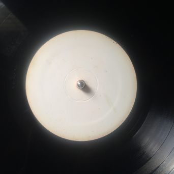 Hand Drawn Pressing: White Label Record