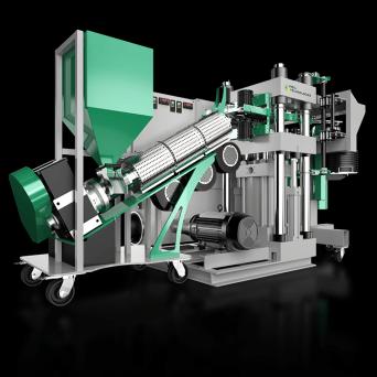 Viryl Tech: WARM TONE fully automated record presses // www.viryltech.com