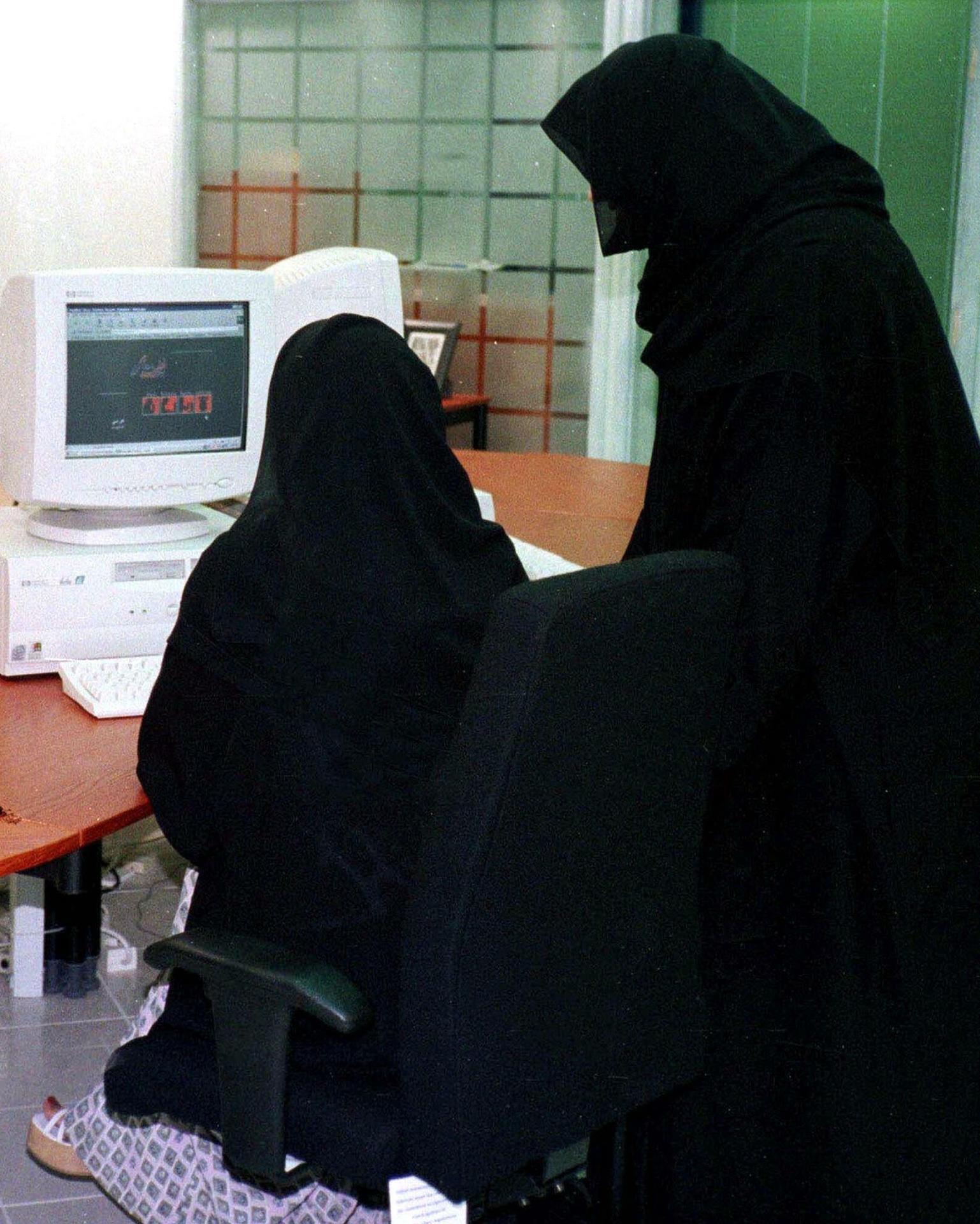 Frauen haben in Saudi-Arabien kaum Chancen auf dem Arbeitsmarkt. Quelle: AP