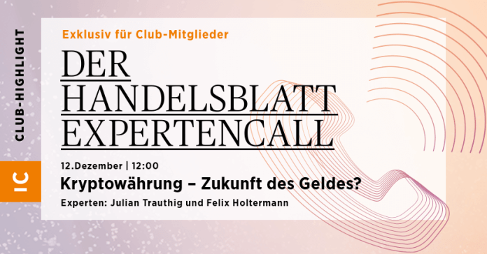 The Handelsblatt expert call