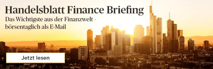 Finance briefing