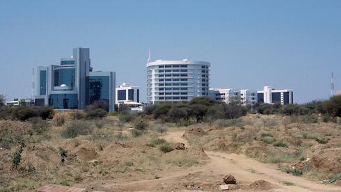 Gaborone in Botwwana.