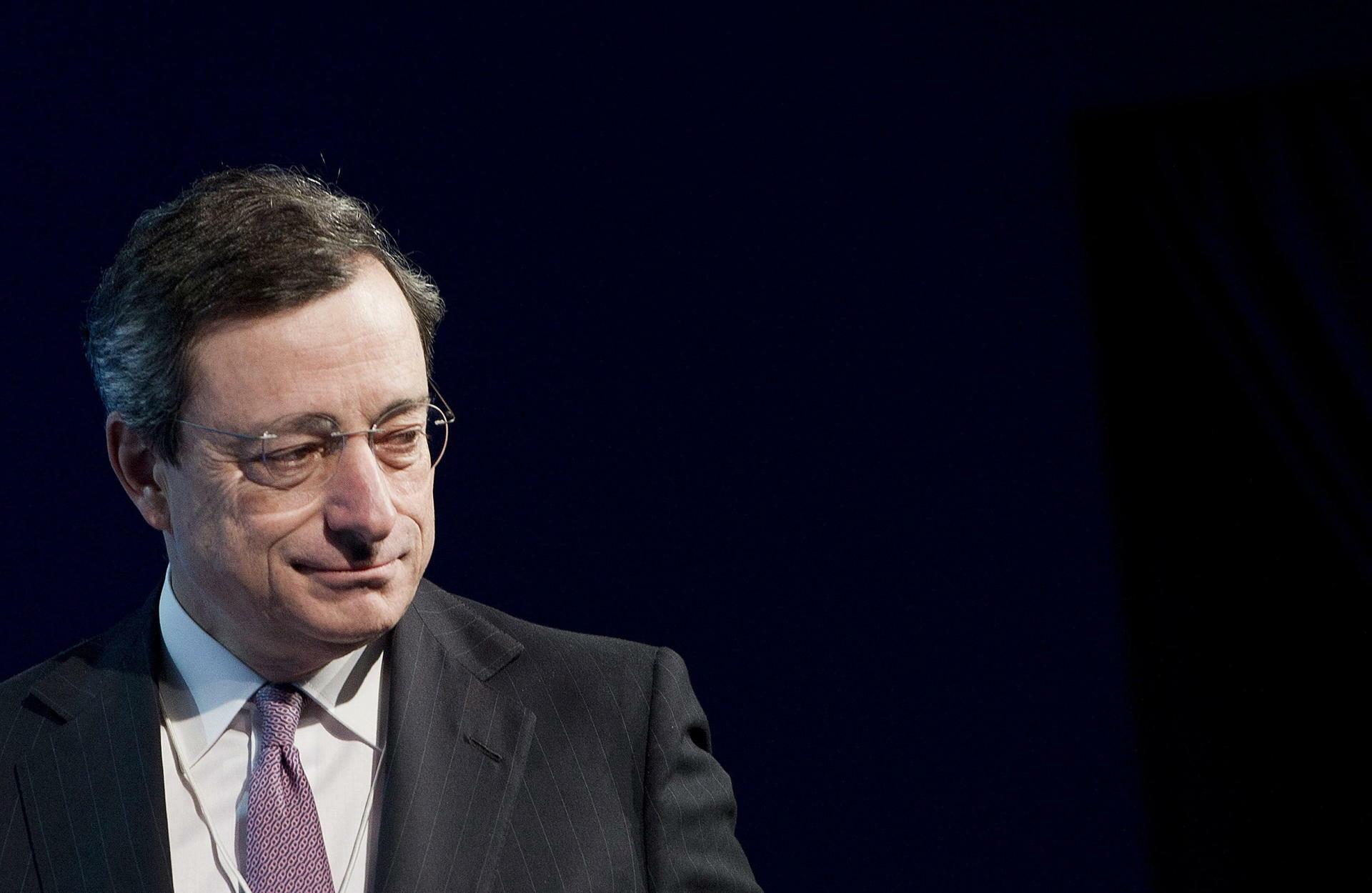 Mario Draghi, Präsident der Europäischen Zentralbank (EZB). Quelle: dpa