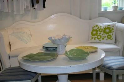 Kuddar och keramik