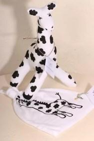 Presentkit, giraff, mössa