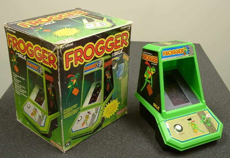 Risultati immagini per frogger mini arcade coleco