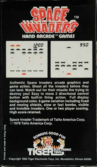 Tiger Space Invaders