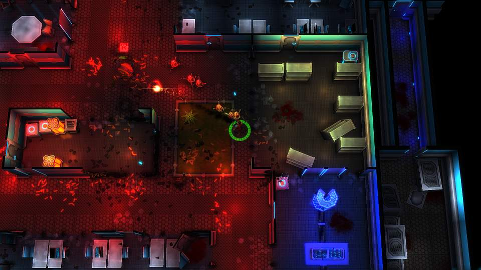 Cyperpunk Twin Stick Shooter Neon Chrome Coming To PS Vita