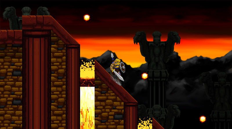 Image result for Volgarr the Viking Nintendo Switch