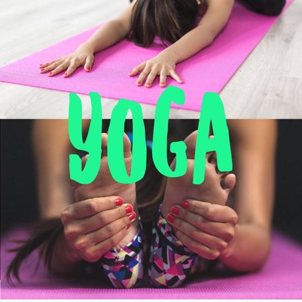 Yoga and Nail Art