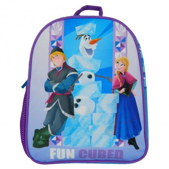 rugzak Frozen 29 x 24 x 9 cm paars