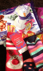 Socks and Chocs for the Homeless 2012