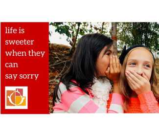 Helping Children Apologize
