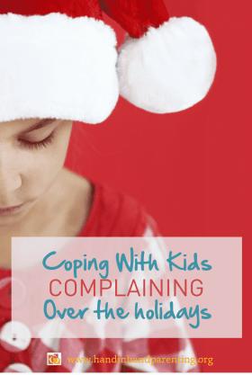 parenting, it's not fair, complaining