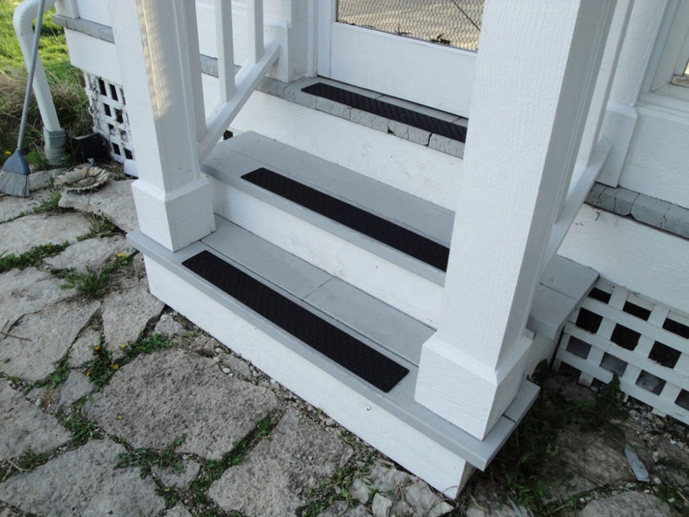 Handi Treads® Aluminum Non Slip Stair Treads Nosings Strips And | Non Slip Nosing For Carpeted Stairs | Brown Cinnamon | Stair Tread Nosing | Aa123 | Laminate Flooring | Slip Resistant
