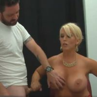 Teacher tries to fix his lower by strocking his cock