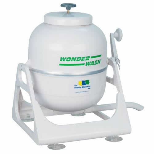 The Wonderwash Portable Washing Machine Is A Great Hand Powered,  Alternative And Small Laundry Device That Uses No Electricity At All.
