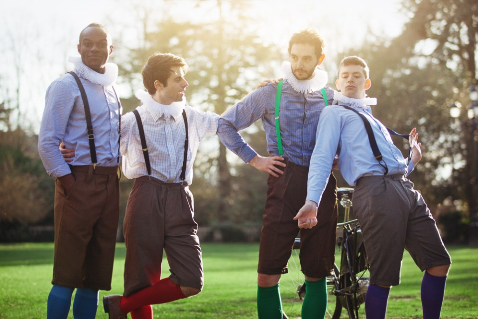 The HandleBards - Just a little bit silly