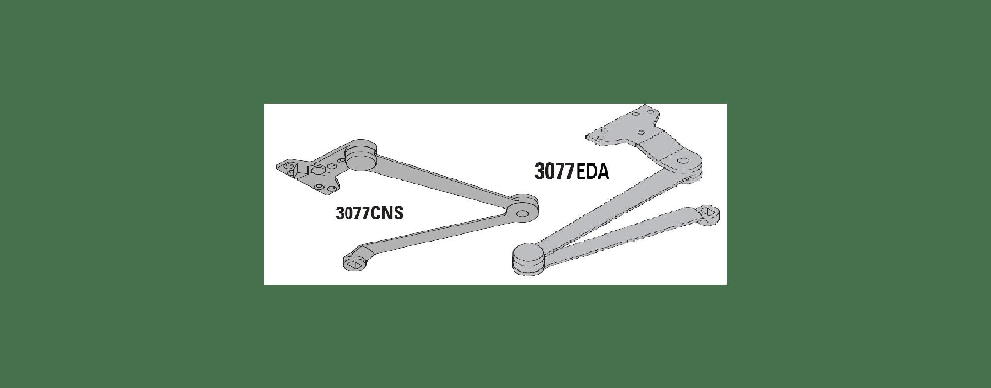 Lcn Eda Aluminum Regular Extra Duty Arm For