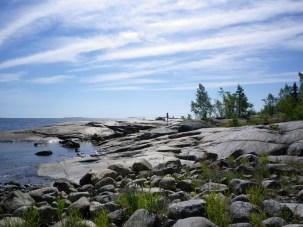 Küste auf Norrbyskär