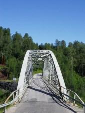 Brücke über den Umeälven