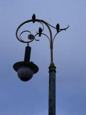 Replika der ersten Straßenbeleuchtung - Umeå