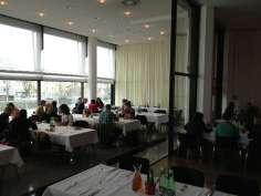 Fachtagung Interkulturalität von Ergotherapie Austria 2013 - Mittagessen im Speisesaal