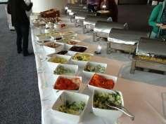 Fachtagung Interkulturalität von Ergotherapie Austria 2013 - Mittagsbuffet