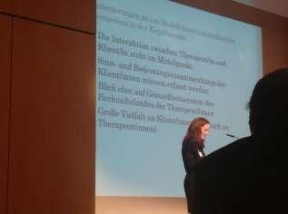Vortrag Interkulturelle Kompetenz lehr- und lernbar machen - Modellanforderungen Interkulturalität in der Ergotherapie